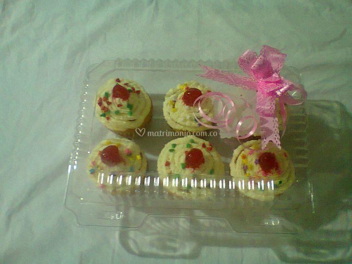Cup cakes para regalar