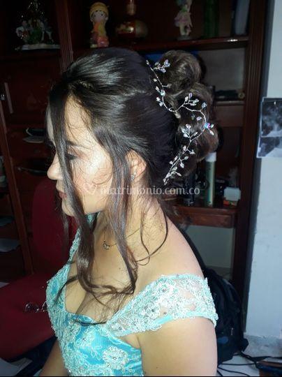 Peinado Quinceañera