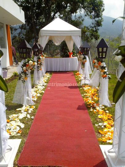 Para su ceremonia