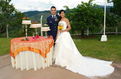 Organiza el matrimonio