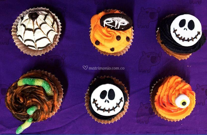 Cupcakes decoracion estacional