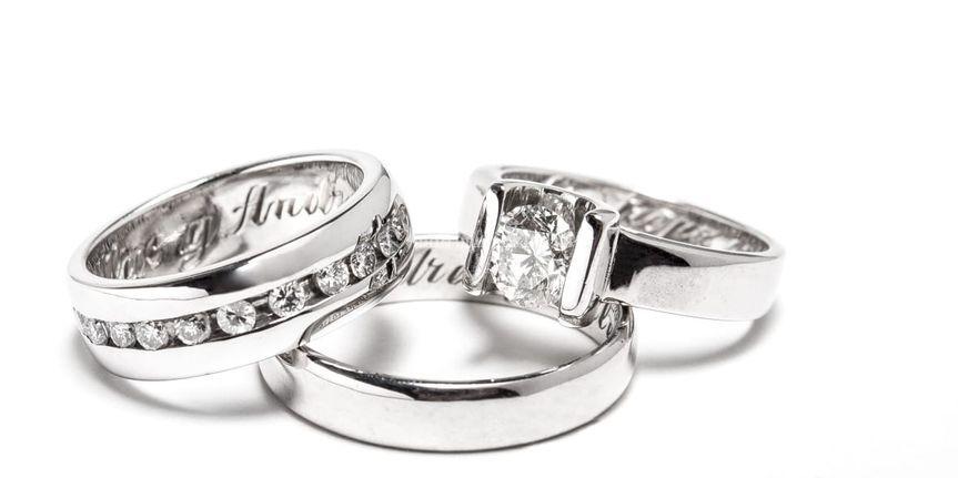 Set de argollas y anillo