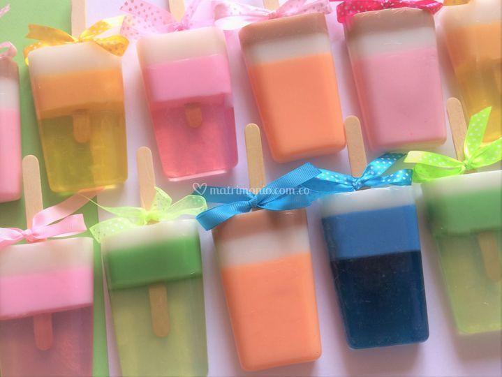 Paletas de jabón