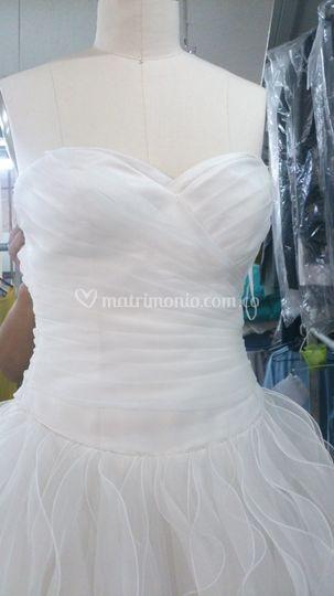 Lavado vestidos de novia bogota