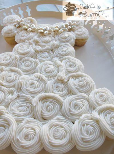 Vestido Novia Cupcakes