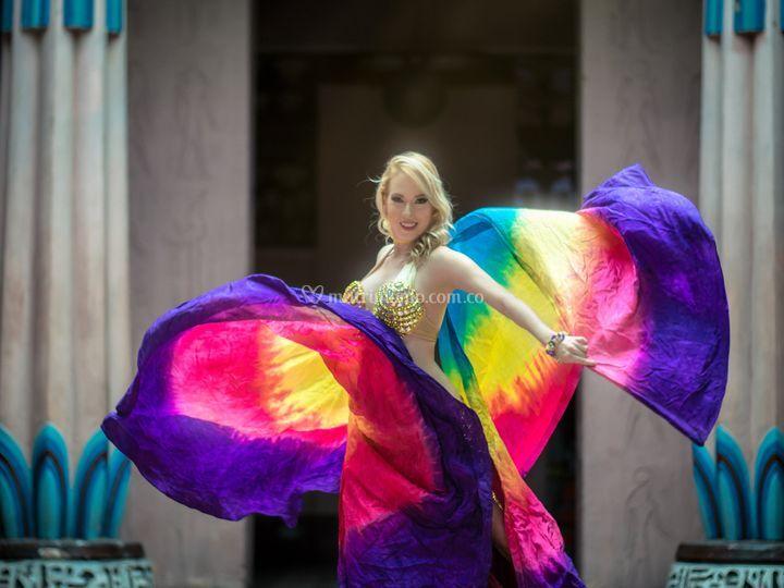 Show de danza árabe (solista)