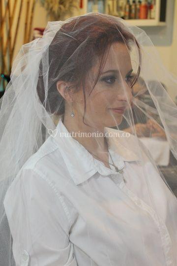 Prueba de novia alessandra