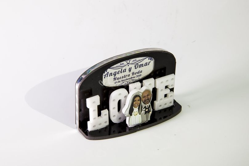Souvenir love personalizado