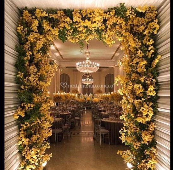 Flores amarillas?