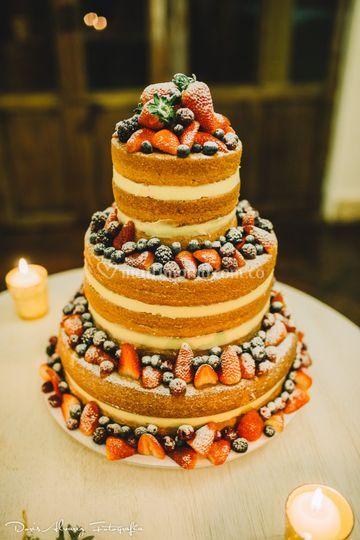 Nude Cake  frutosrojos