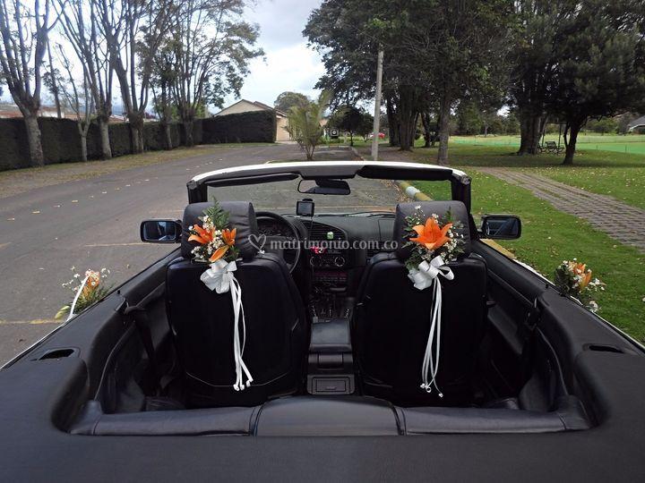 Vehículo decorado
