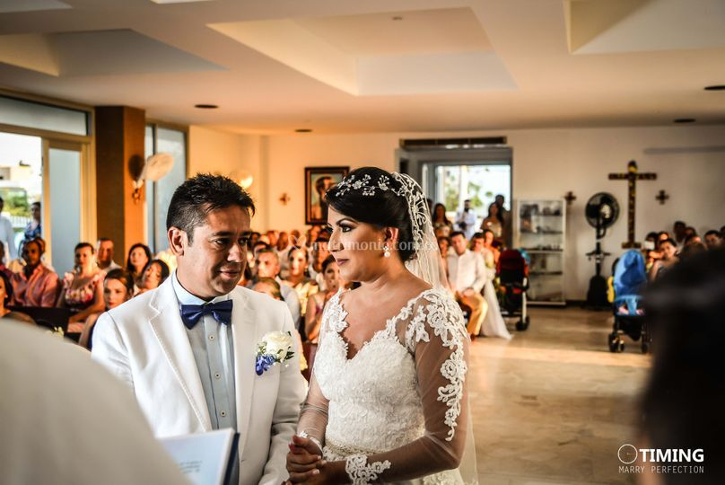 Claudia  y Andrés