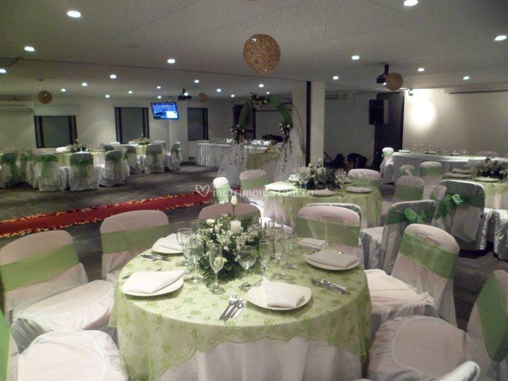 Matrimonio en auditorio