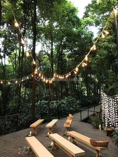 Deck del bosque