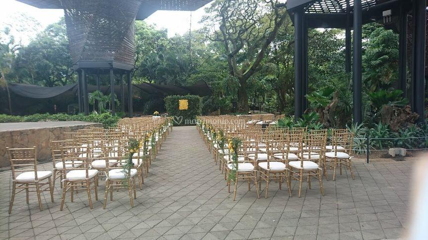 Orquideorama - Ceremonia