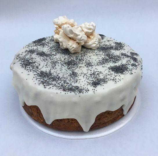 Torta de amapola y vainilla