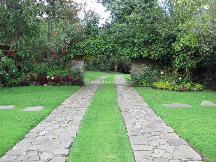 Casa de campo potrerito for Casa de jardin varca goa