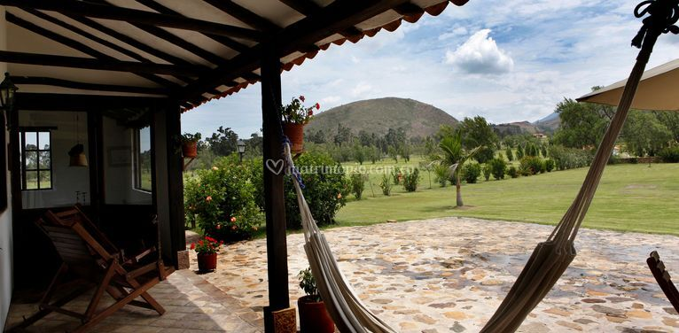Jardín Casa de Rio, Hacienda V