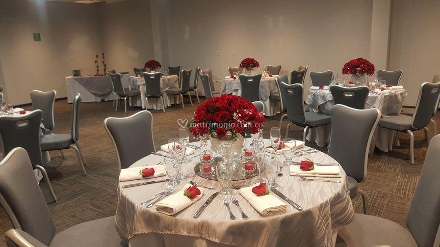 Matrimonio, salón Garden