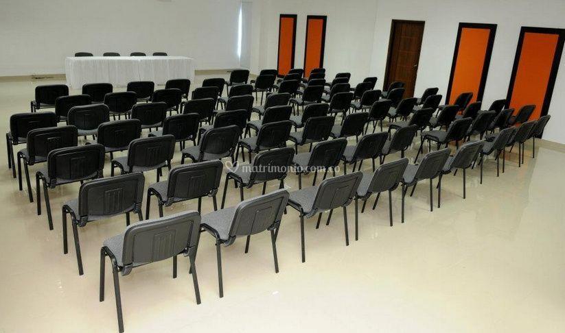 El salón para su evento