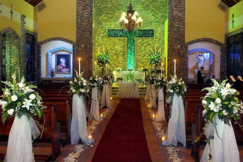 Camino altar