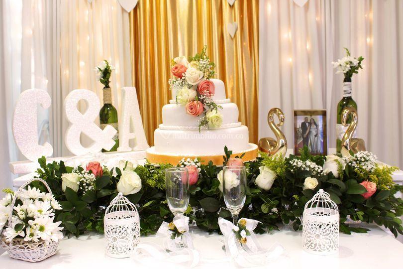 Mesa de pastel.