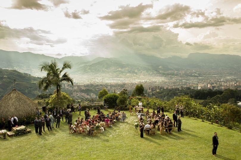 Ceremonia zona verde