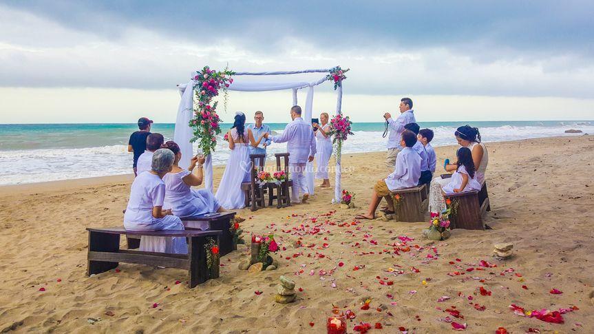 Ceremonia con notario