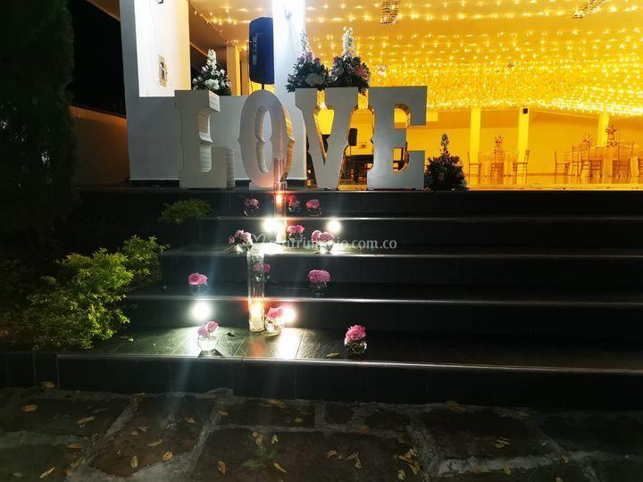 Love entrada