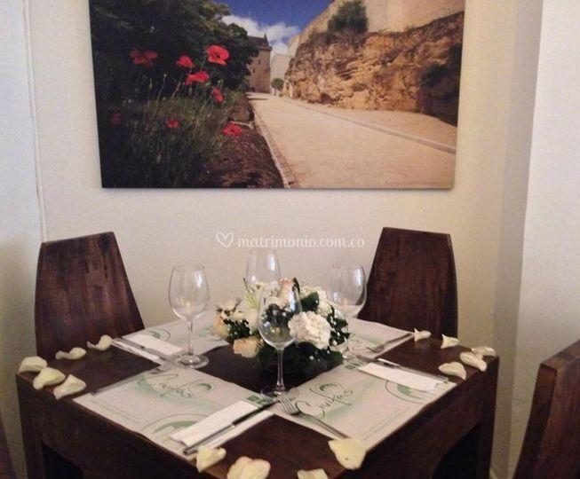 Civitas restaurante for Centros de mesa para restaurantes