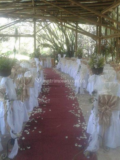 Recepción boda