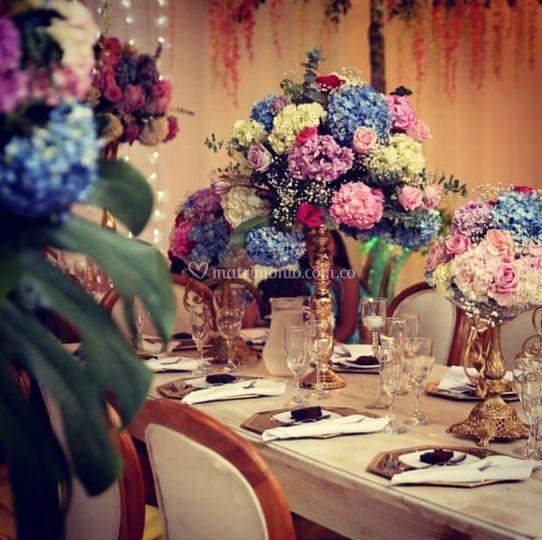 Decoración, floral desing