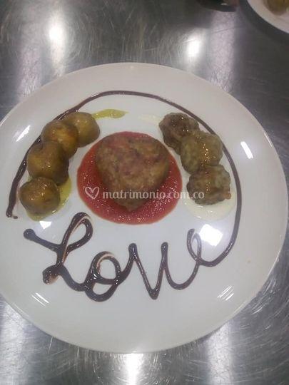 Love plato de autor