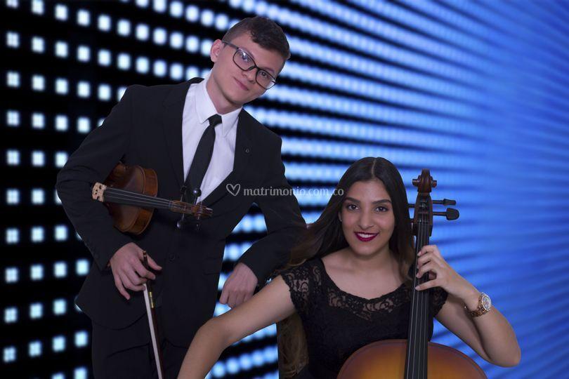Chelo y violín
