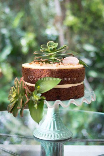 Bizcocho carrot cake personalizado