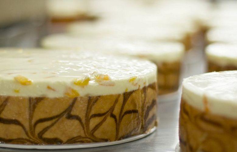 Torta de durazno