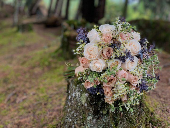 Diseño ramo de flores