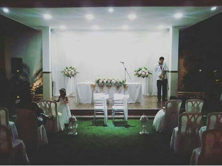 Saxo para matrimonios