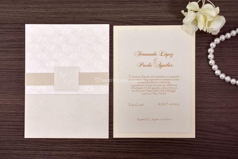 Tarjetas De Matrimonio Bogota
