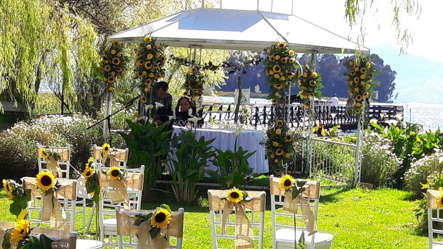 Ceremonia girasoles