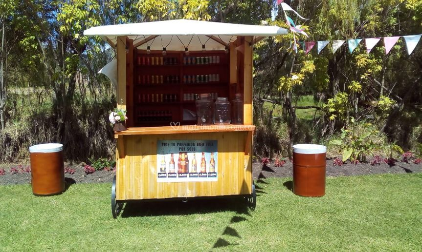 Estación de bebidas