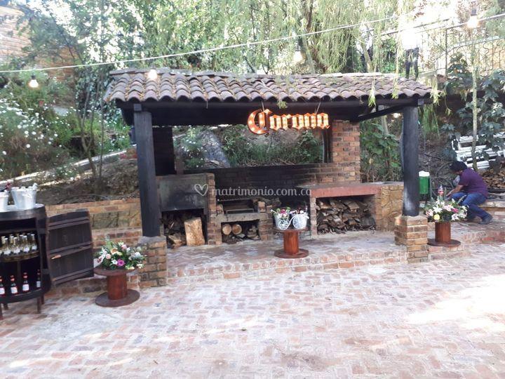 Estación de cerveza corona