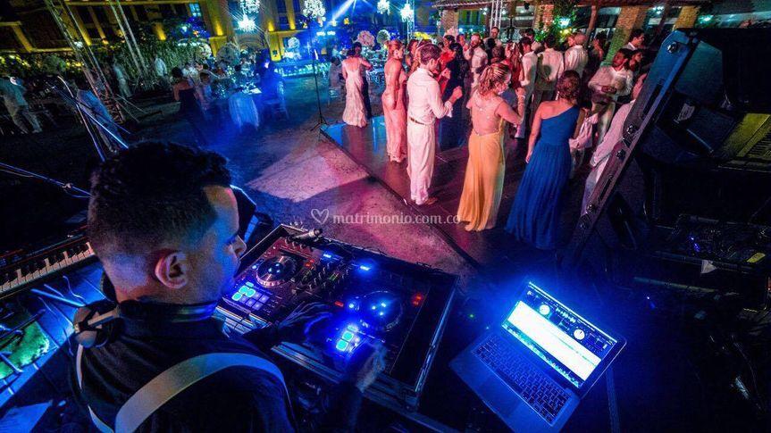 DJ Gustavo Ortegón (Cartagena)