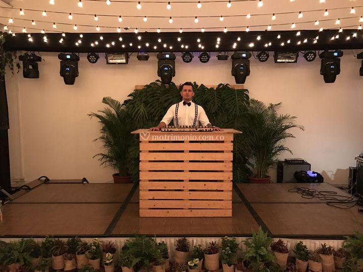 DJ Gustavo Ortegón