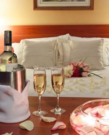 Plan noche de bodas