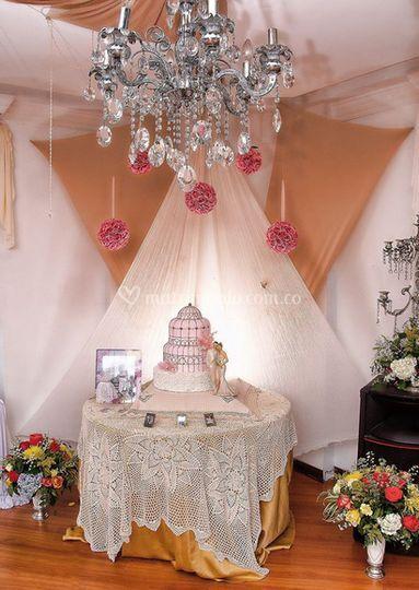 Decoración para la boda