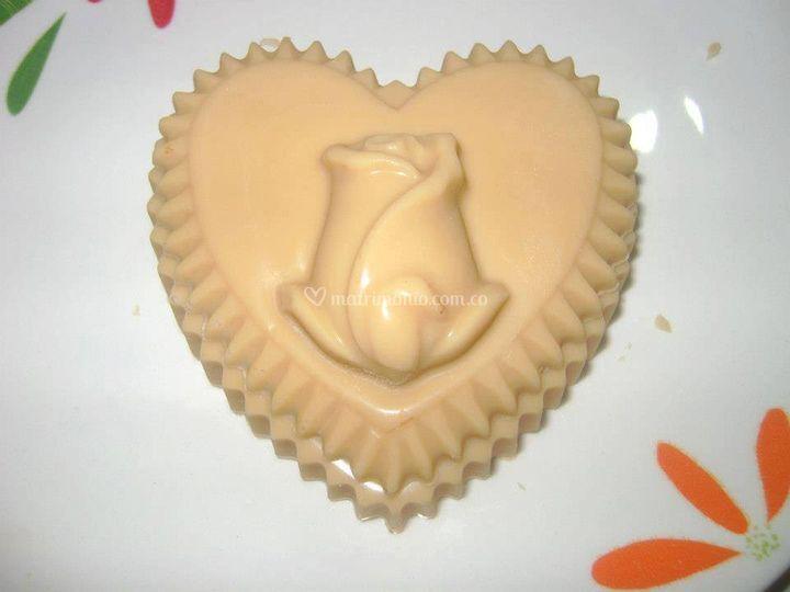 Chocolate para recuerdos de boda