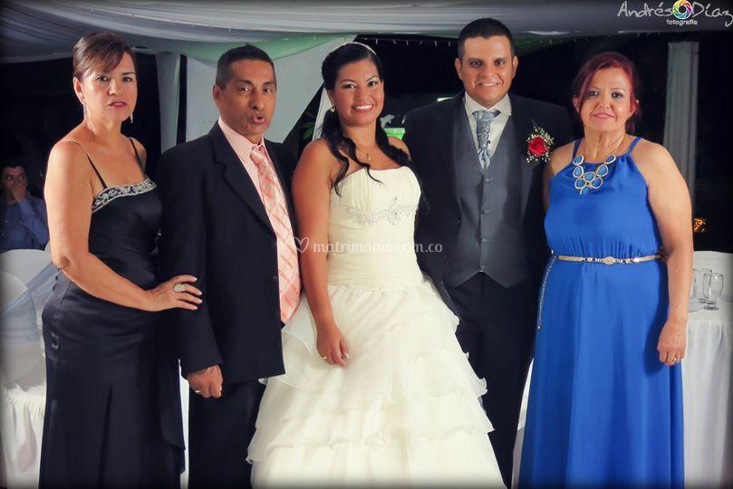 Matrimonio Jiménez Aviles