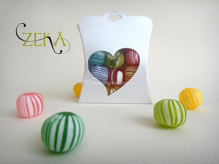 Caja con dulces