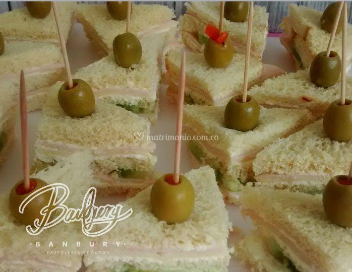 Mini sandwich de pavo